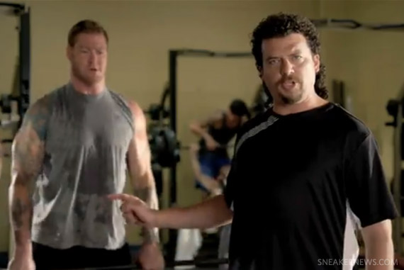 Kenny Powers K-Swiss Ad