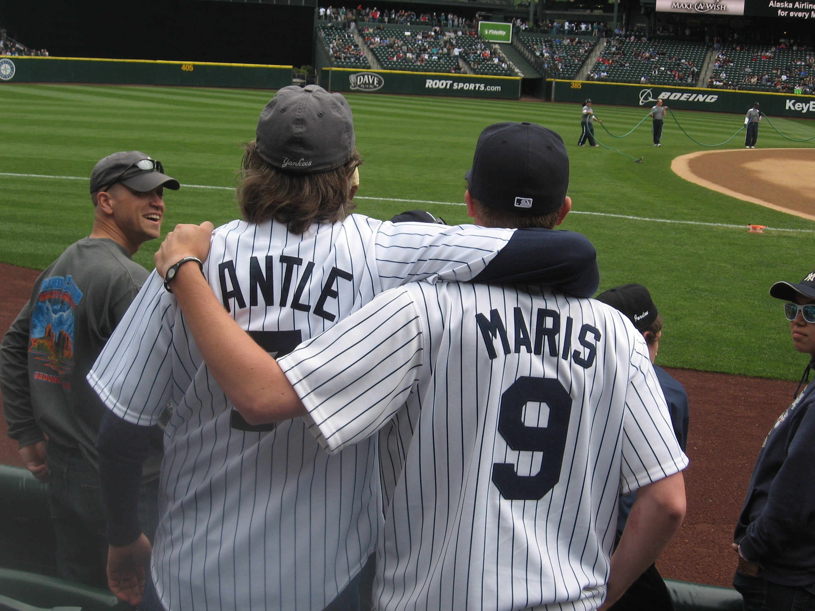 Yankees Mantle & Maris