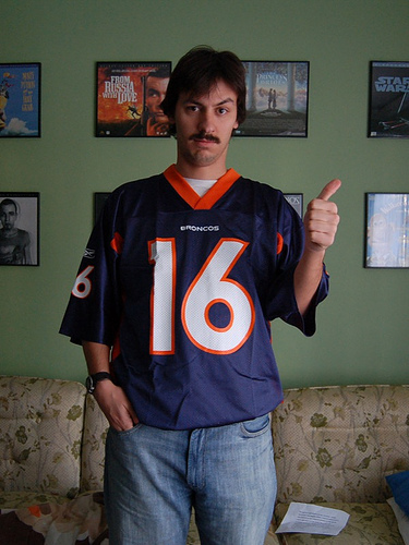 Bronco's Tebow Fan