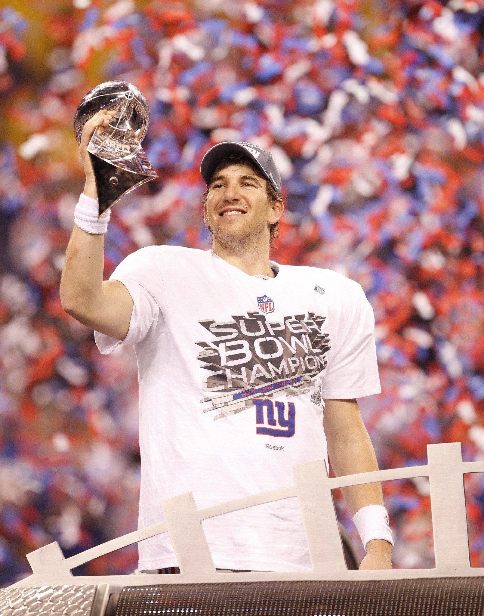Eli Manning Super Bowl XLVI MVP