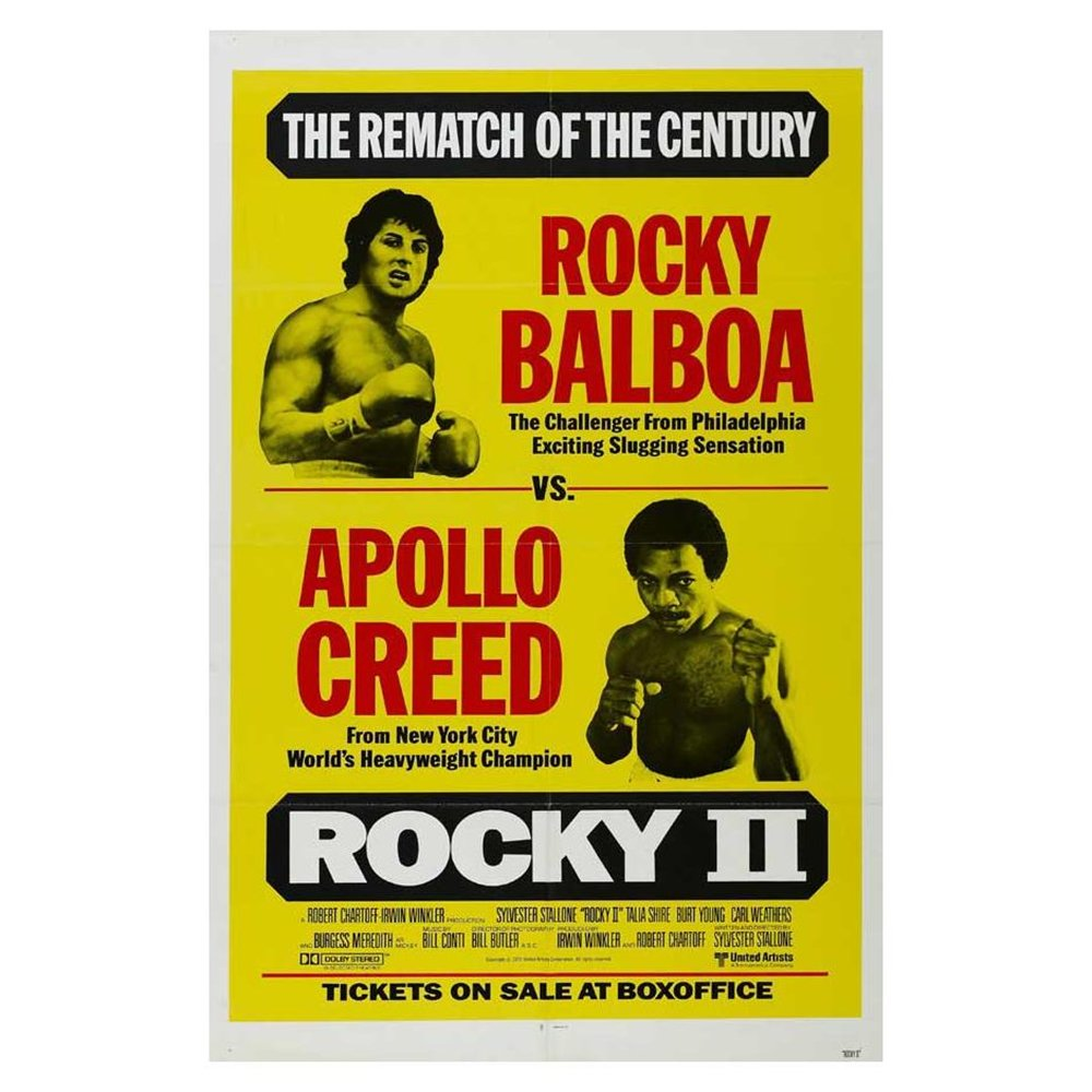 Rocky II - Movie Poster